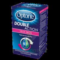 Optone Double Action Solution Oculaire Yeux Secs Fl/10ml à JOUE-LES-TOURS