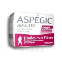 ASPEGIC ADULTES 1000 mg, poudre pour solution buvable en sachet-dose 20 à JOUE-LES-TOURS