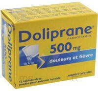 DOLIPRANE 500 mg Poudre pour solution buvable en sachet-dose B/12 à JOUE-LES-TOURS