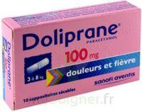 DOLIPRANE 100 mg Suppositoires sécables 2Plq/5 (10) à JOUE-LES-TOURS