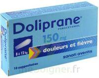 Doliprane 150 Mg Suppositoires 2plq/5 (10) à JOUE-LES-TOURS
