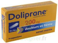 DOLIPRANE 200 mg Suppositoires 2Plq/5 (10) à JOUE-LES-TOURS