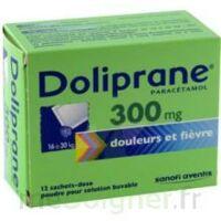 Doliprane 300 Mg Poudre Pour Solution Buvable En Sachet-dose B/12 à JOUE-LES-TOURS