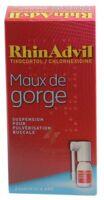 RHINADVIL MAUX DE GORGE TIXOCORTOL/CHLORHEXIDINE, suspension pour pulvérisation buccale à JOUE-LES-TOURS