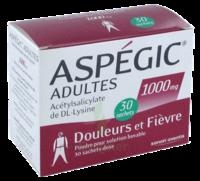 Aspegic Adultes 1000 Mg, Poudre Pour Solution Buvable En Sachet-dose 30 à JOUE-LES-TOURS
