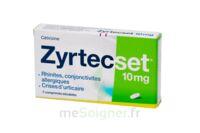 ZYRTECSET 10 mg, comprimé pelliculé sécable à JOUE-LES-TOURS