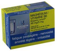 MAGNESIUM/VITAMINE B6 BIOGARAN CONSEIL 48 mg/5 mg, comprimé pelliculé à JOUE-LES-TOURS