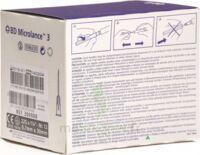 Bd Microlance 3, G22 1 1/4, 0,7 Mm X 30 Mm, Noir  à JOUE-LES-TOURS