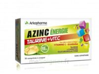 Azinc Energie Taurine + Vitamine C Comprimés à croquer dès 15 ans B/30 à JOUE-LES-TOURS