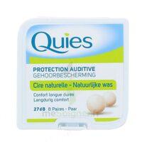 QUIES PROTECTION AUDITIVE CIRE NATURELLE 8 PAIRES à JOUE-LES-TOURS