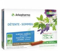 Arkofluide Bio Ultraextract Solution buvable détente sommeil 20 Ampoules/10ml à JOUE-LES-TOURS