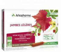 Arkofluide Bio Ultraextract Solution buvable jambes légères 20 Ampoules/10ml à JOUE-LES-TOURS