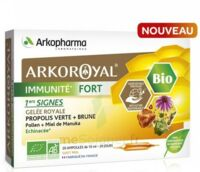 Arkoroyal Immunité Fort Solution Buvable 20 Ampoules/10ml à JOUE-LES-TOURS