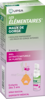 LES ELEMENTAIRES Spray buccal maux de gorge enfant Fl/20ml à JOUE-LES-TOURS