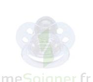 Bébisol Sucette F physiologique silicone transparente / 1er âge à JOUE-LES-TOURS
