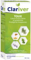 Clariver Solution Buvable Toux Sèche Et Productive Adulte Fl/175ml à JOUE-LES-TOURS