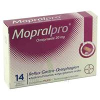 MOPRALPRO 20 mg Cpr gastro-rés Film/14 à JOUE-LES-TOURS