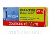 IBUPROFENE BIOGARAN CONSEIL 400 mg, comprimé pelliculé à JOUE-LES-TOURS