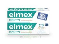 ELMEX SENSITIVE DENTIFRICE, tube 75 ml, pack 2 à JOUE-LES-TOURS