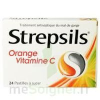 STREPSILS ORANGE VITAMINE C, pastille à JOUE-LES-TOURS