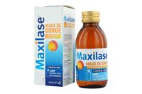 MAXILASE MAUX DE GORGE ALPHA-AMYLASE 200 U.CEIP/ml, sirop Fl/125ml à JOUE-LES-TOURS