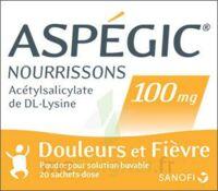 Aspegic Nourrissons 100 Mg, Poudre Pour Solution Buvable En Sachet-dose à JOUE-LES-TOURS