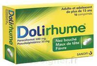 DOLIRHUME PARACETAMOL ET PSEUDOEPHEDRINE 500 mg/30 mg, comprimé à JOUE-LES-TOURS