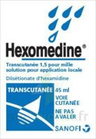 HEXOMEDINE TRANSCUTANEE 1,5 POUR MILLE, solution pour application locale à JOUE-LES-TOURS