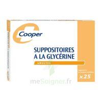 SUPPOSITOIRES A LA GLYCERINE COOPER Suppos en récipient multidose adulte Sach/25 à JOUE-LES-TOURS