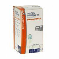 CALCIUM VITAMINE D3 BIOGARAN 500 mg/400 UI, comprimé à sucer à JOUE-LES-TOURS