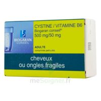 Cystine/vitamine B6 Biogaran Conseil 500 Mg/50 Mg Cpr Pell Plq/120 à JOUE-LES-TOURS