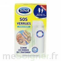 Scholl SOS Verrues traitement pieds et mains à JOUE-LES-TOURS