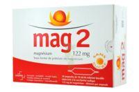 MAG 2 SANS SUCRE 122 mg, solution buvable en ampoule édulcoré à la saccharine sodique à JOUE-LES-TOURS