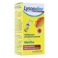 LYSOPAINE Maux Gorge spray AMBROXOL.MENTHE 20ML à JOUE-LES-TOURS