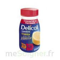 DELICAL BOISSON HP HC CONCENTREE Nutriment vanille 4Bouteilles/200ml à JOUE-LES-TOURS