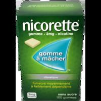 NICORETTE 2 mg Gom à mâcher médic sans sucre menthe fraîche Plq/105gom à JOUE-LES-TOURS