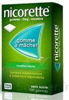 NICORETTE 2 mg Gom à mâcher médic sans sucre menthe fraîche Plq/30gom à JOUE-LES-TOURS