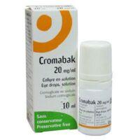 CROMABAK 20 mg/ml, collyre en solution à JOUE-LES-TOURS