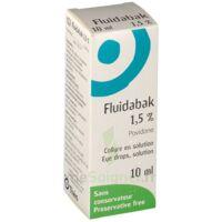 FLUIDABAK 1,5 %, collyre en solution à JOUE-LES-TOURS