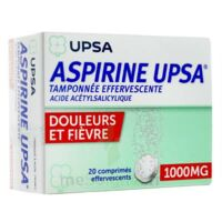 Aspirine Upsa Tamponnee Effervescente 1000 Mg, Comprimé Effervescent à JOUE-LES-TOURS