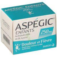 Aspegic Enfants 250, Poudre Pour Solution Buvable En Sachet-dose à JOUE-LES-TOURS