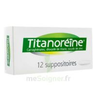 TITANOREINE Suppositoires B/12 à JOUE-LES-TOURS