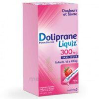 Dolipraneliquiz 300 mg Suspension buvable en sachet sans sucre édulcorée au maltitol liquide et au sorbitol B/12 à JOUE-LES-TOURS