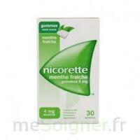 NICORETTE 4 mg Gom à mâcher médic sans sucre menthe fraîche Plq/30gom à JOUE-LES-TOURS
