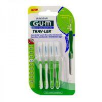 GUM TRAV - LER, 1,1 mm, manche vert , blister 4 à JOUE-LES-TOURS