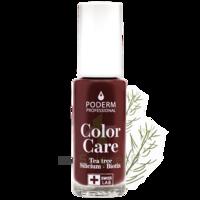 Poderm Vernis Color Care 437 Rouge Noir Fl/8ml à JOUE-LES-TOURS