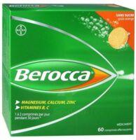 Berocca Comprimés effervescents sans sucre T/60 à JOUE-LES-TOURS