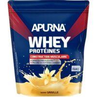 Apurna Whey Proteines Poudre Vanille 750g à JOUE-LES-TOURS