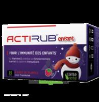 Santé Verte Actirub Sachets enfants - goût framboise à JOUE-LES-TOURS