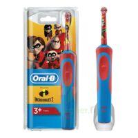 Oral B Incredibles 2 Brosse dents électrique enfant 3ans et+ à JOUE-LES-TOURS